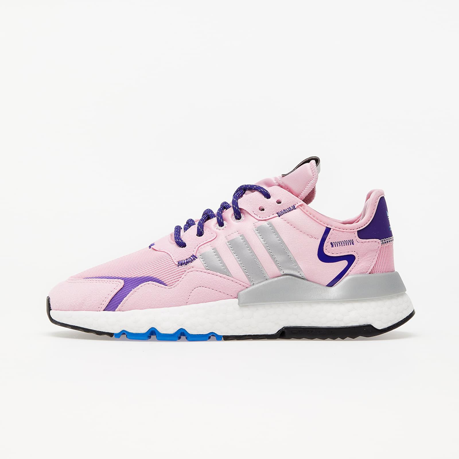adidas Nite Jogger W True Pink/ Silver Met./ Collegiate Purple EUR 40