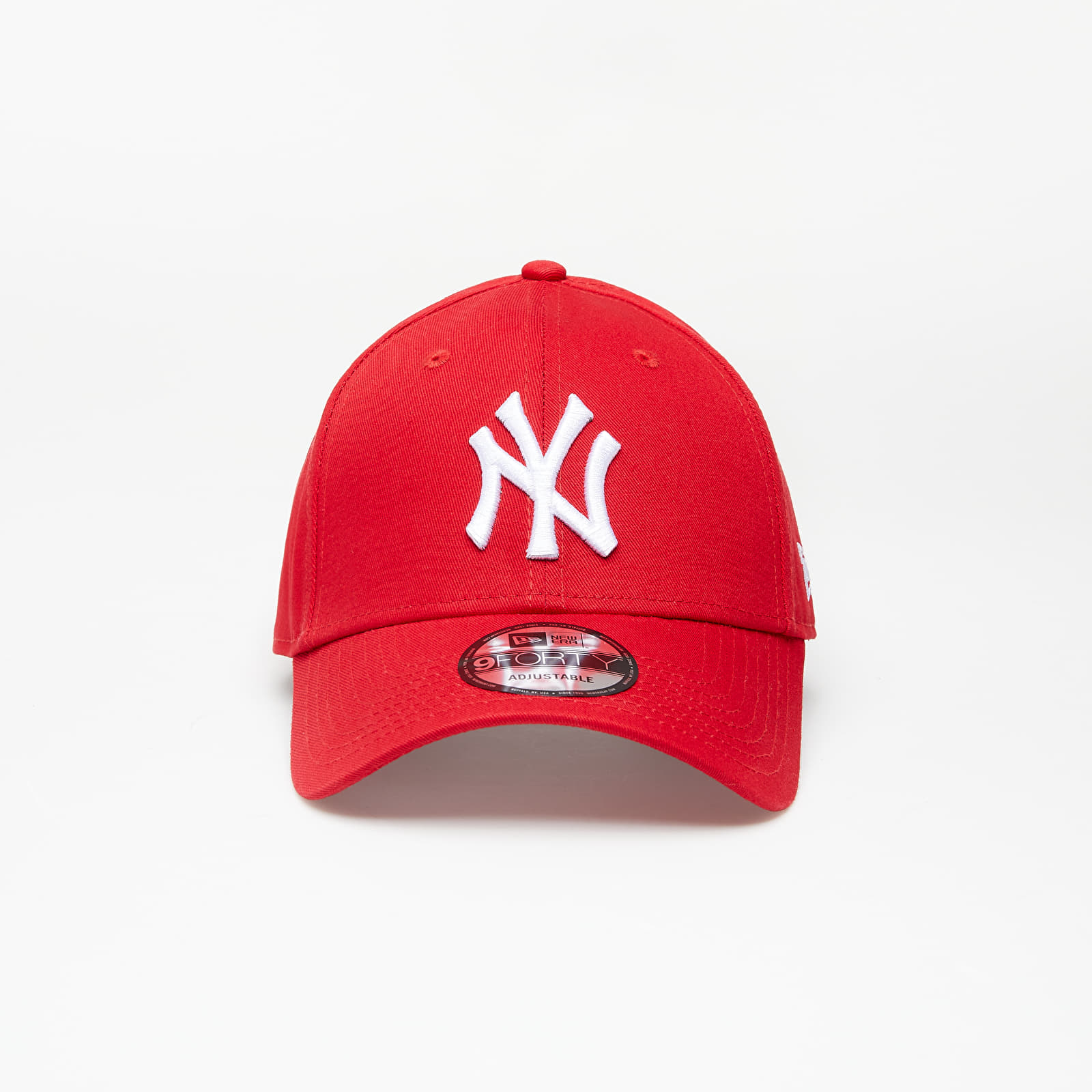Šilterice New Era Cap 9Forty Mlb League Basic New York Yankees Scarlet/ White