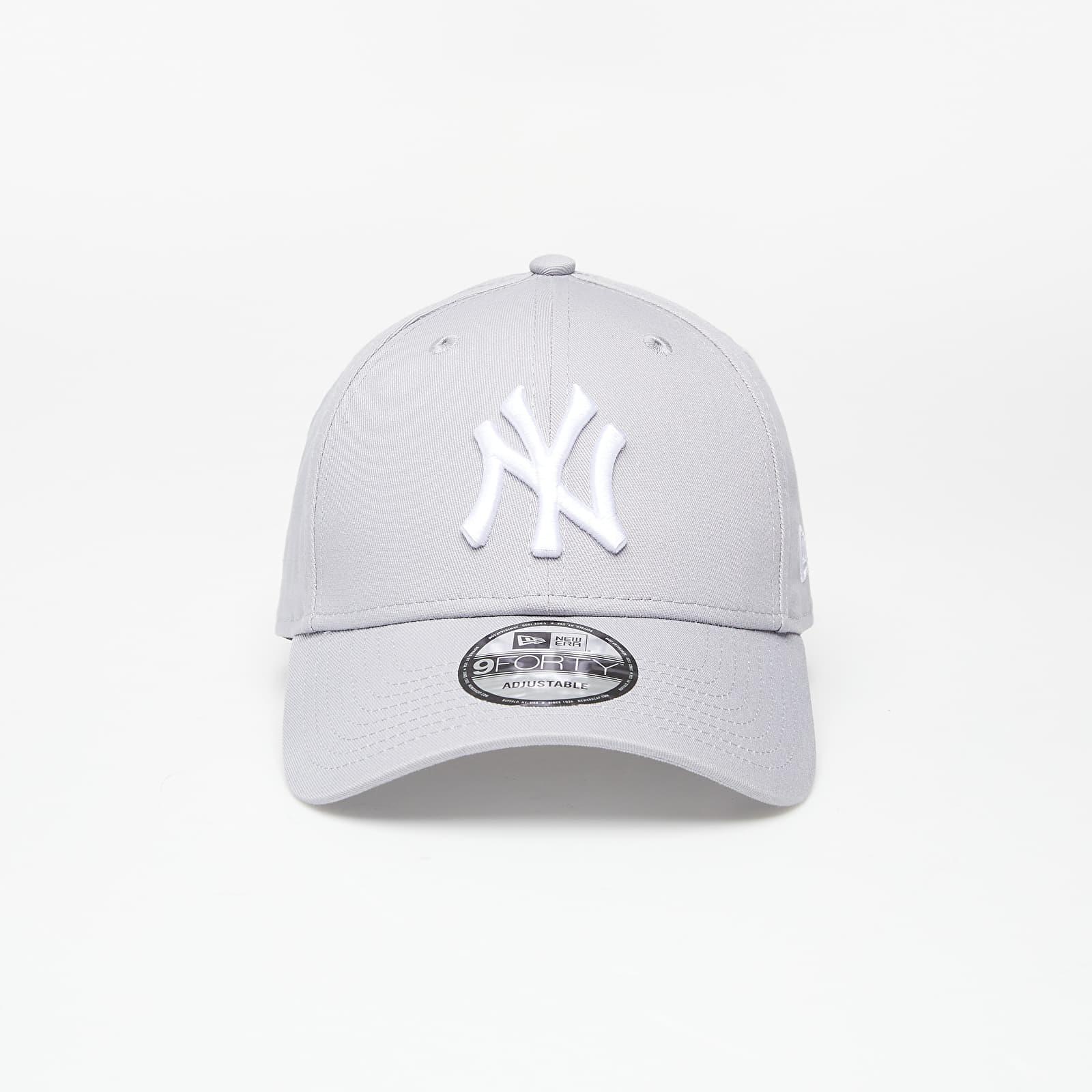 New Era Cap 9Forty Mlb League Basic New York Yankees Grey/ White EUR