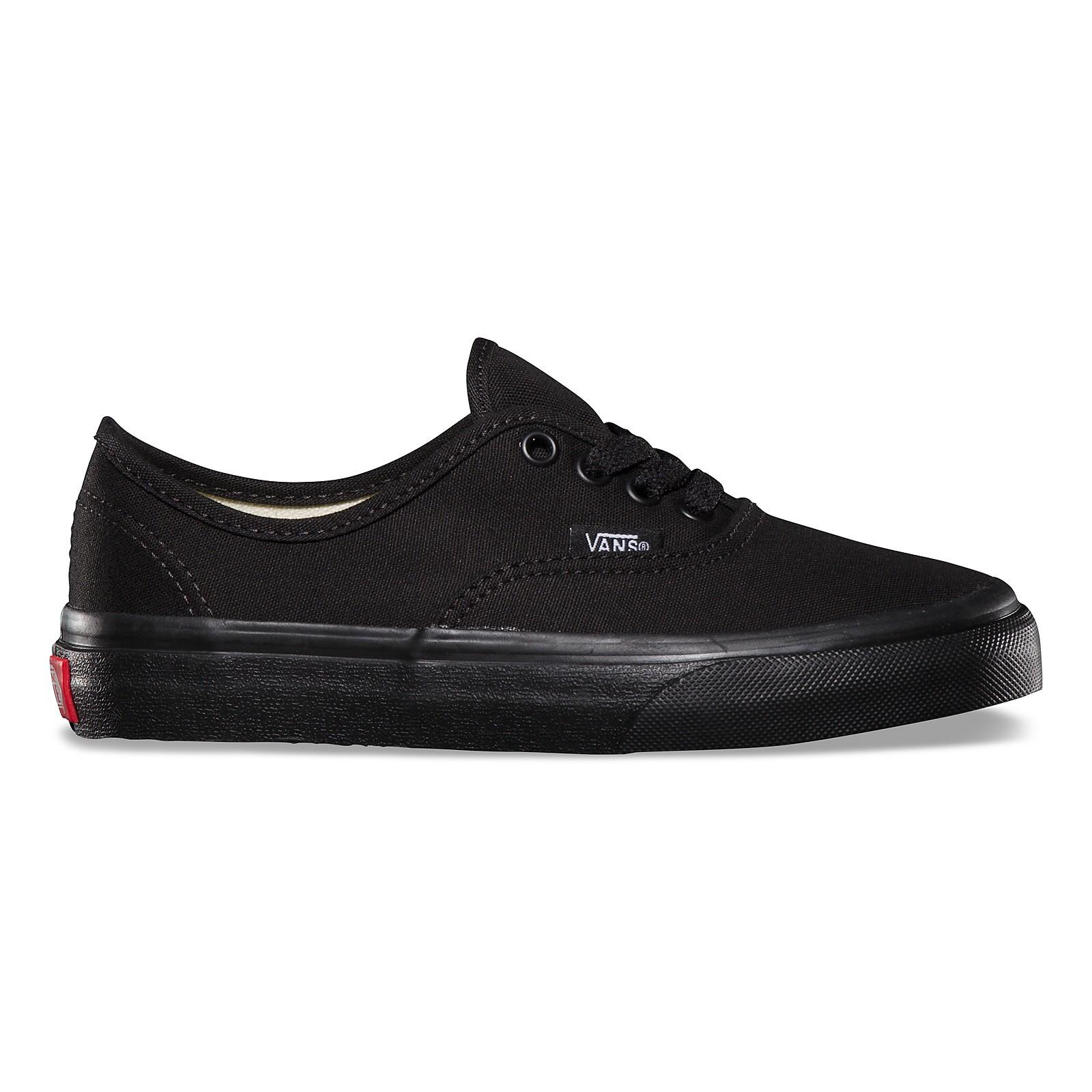 506ec93fc1b47 n Vans Kids AUTHENTIC Black/Black | Footshop