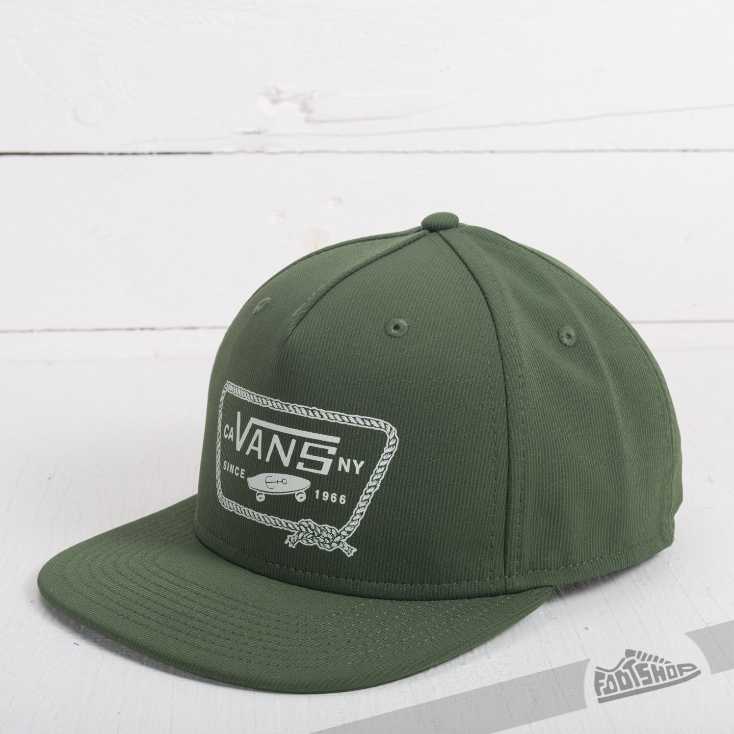 Caps Vans Yardbrough Snapback Rifle Green