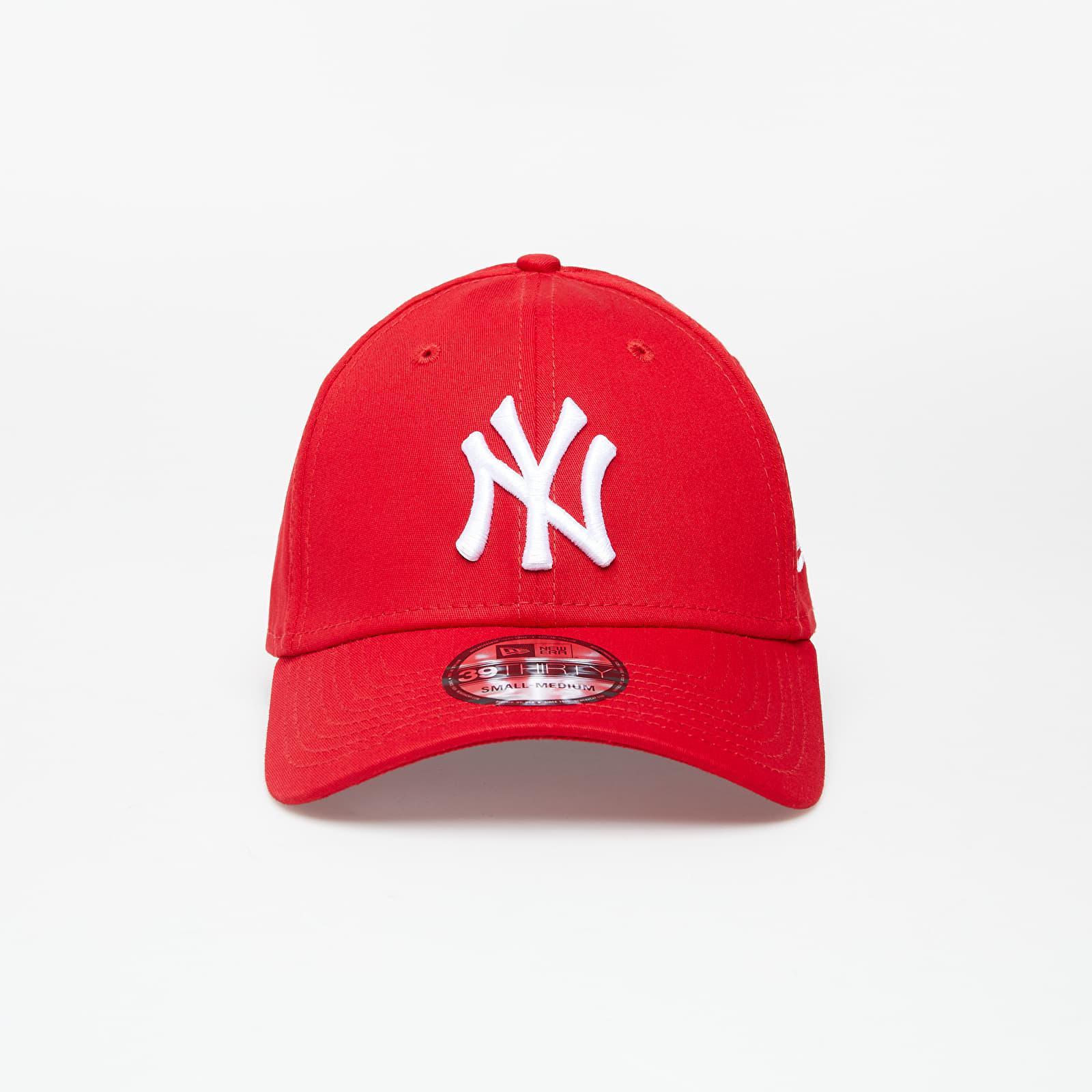 New Era Cap 39Thirty Mlb League Basic New York Yankees Scarlet S-M