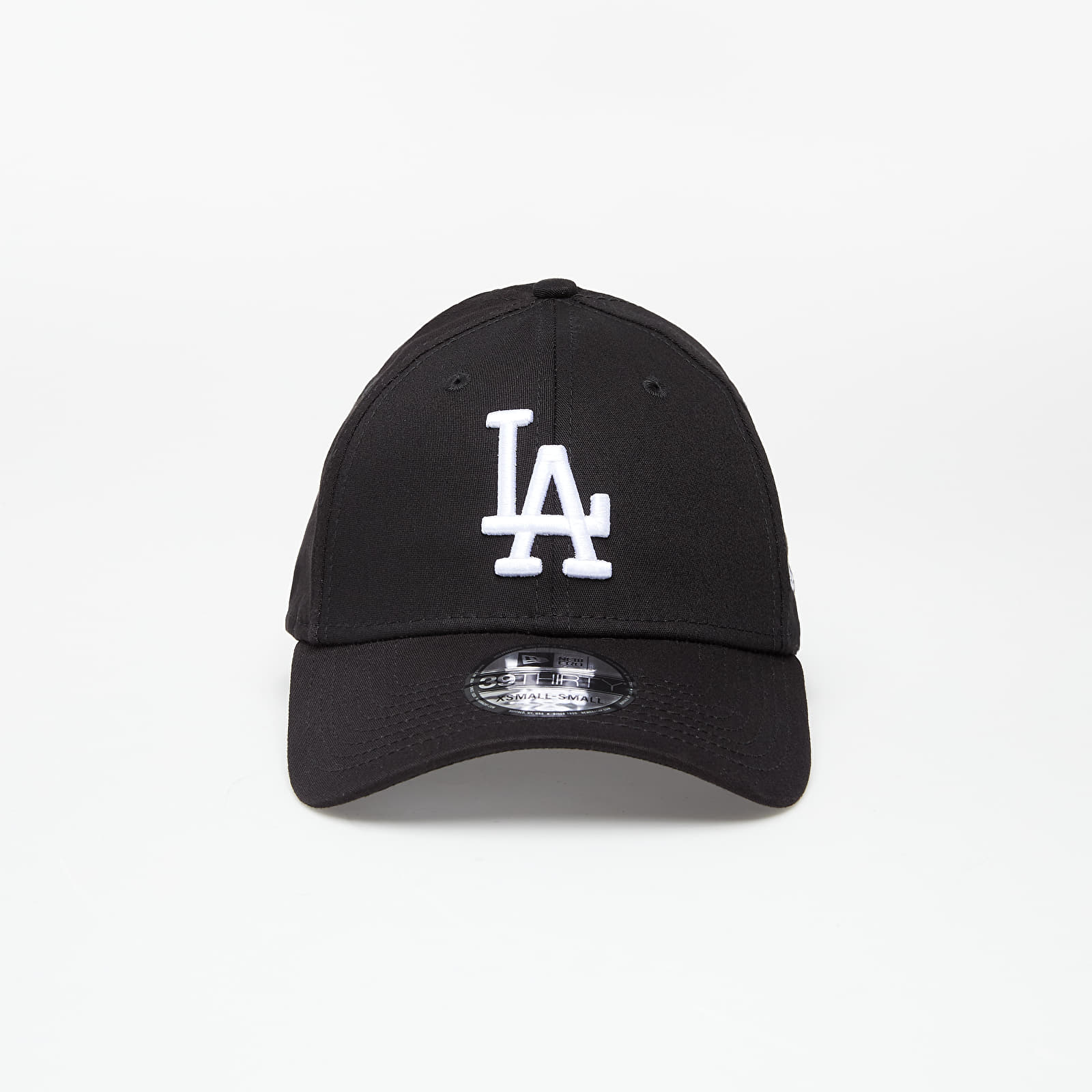 Cappellini New Era Cap 39Thirty Mlb League Essential Los Angeles Dodgers Black/ White