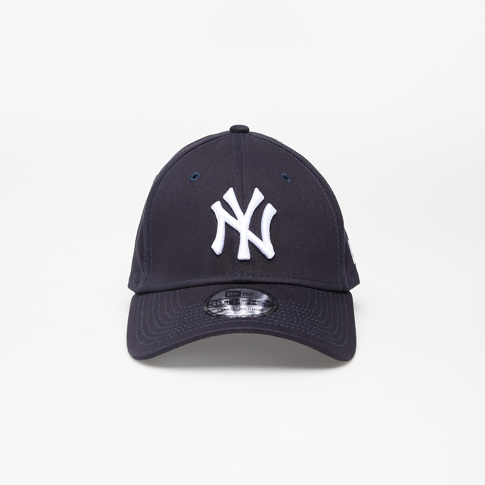 New Era Cap 39Thirty Mlb League Basic New York Yankees Navy/ White S-M