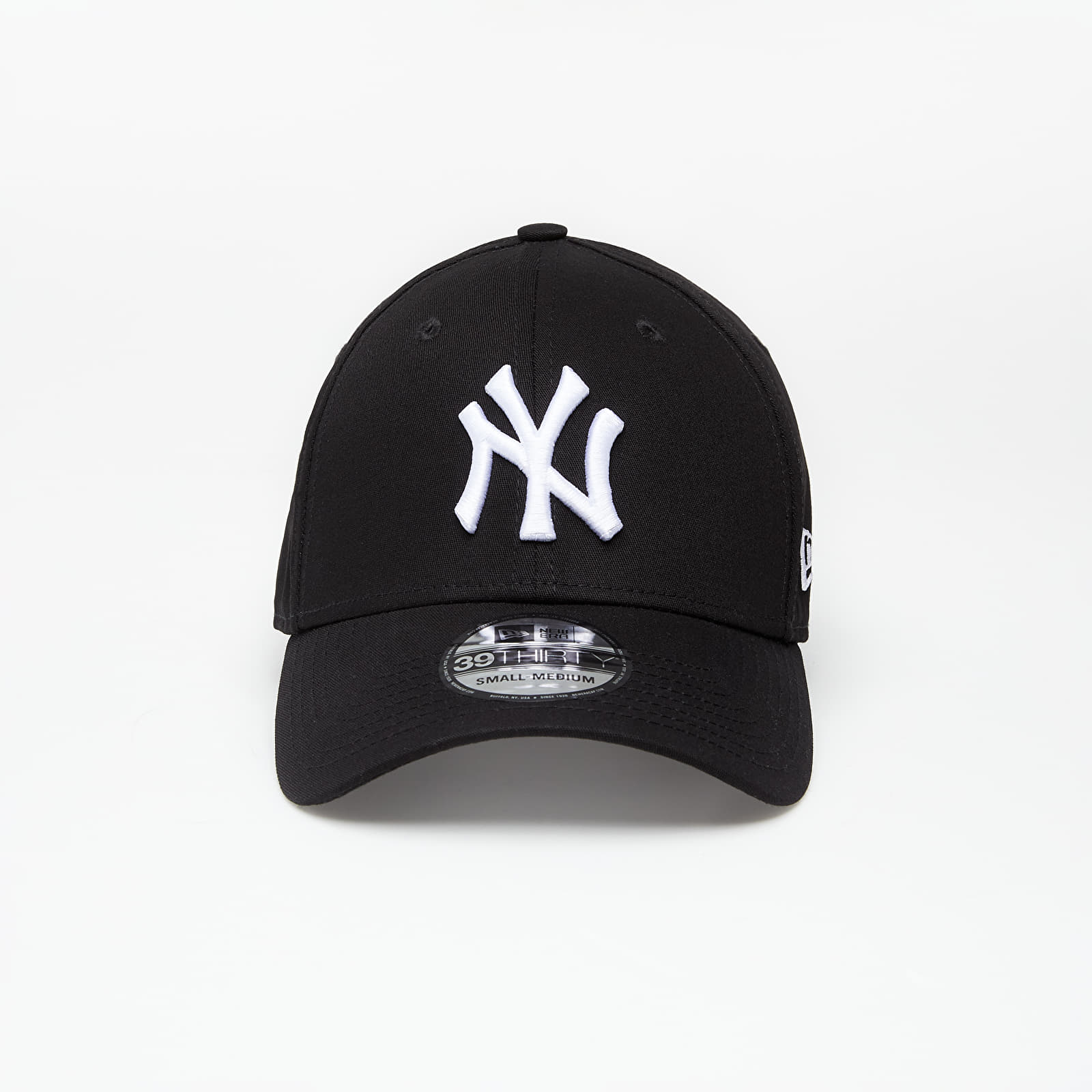 Cappellini New Era Cap 39Thirty Mlb League Basic New York Yankees Black/ White