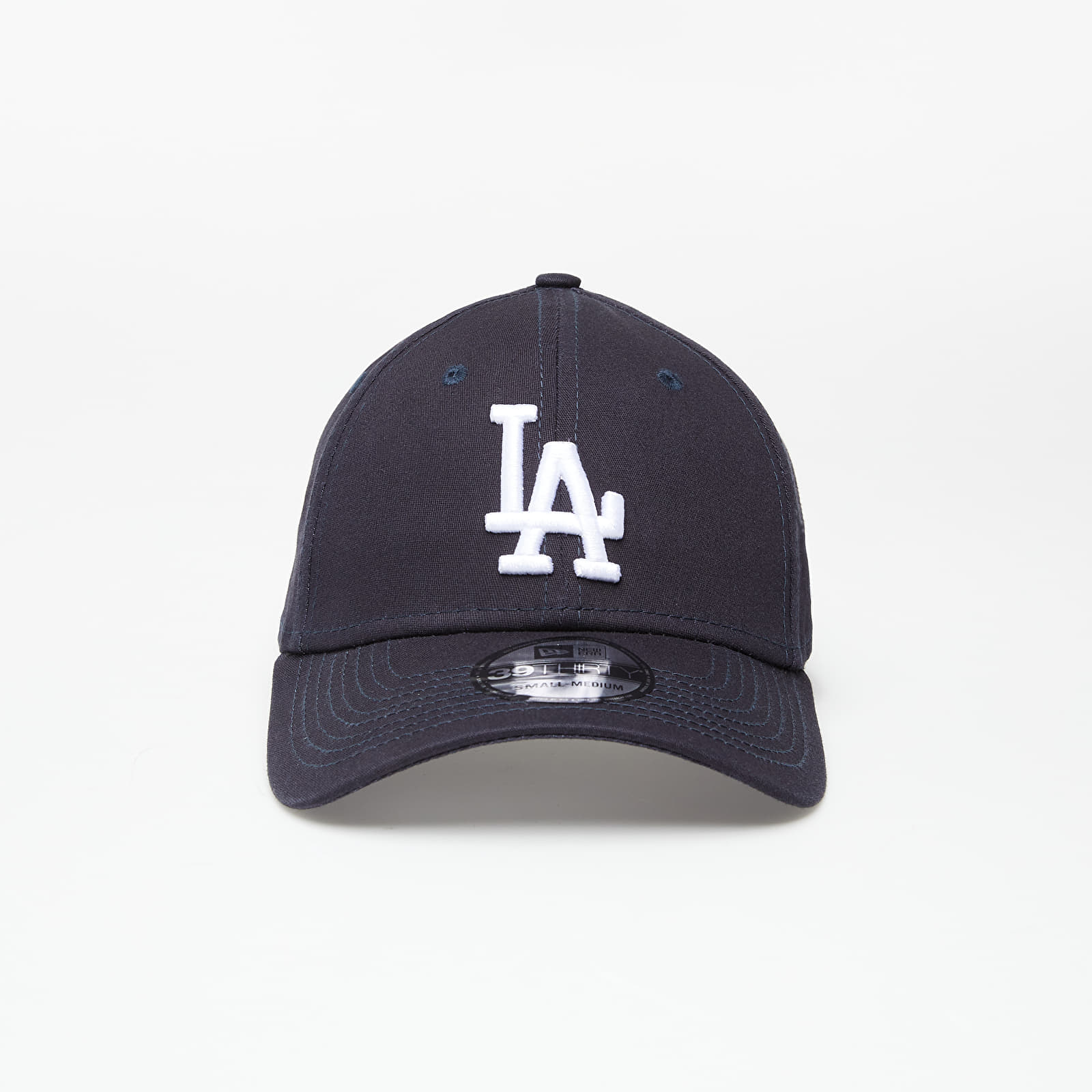 New Era Cap 39Thirty Mlb League Basic Los Angeles Dodgers Navy/ White M-L