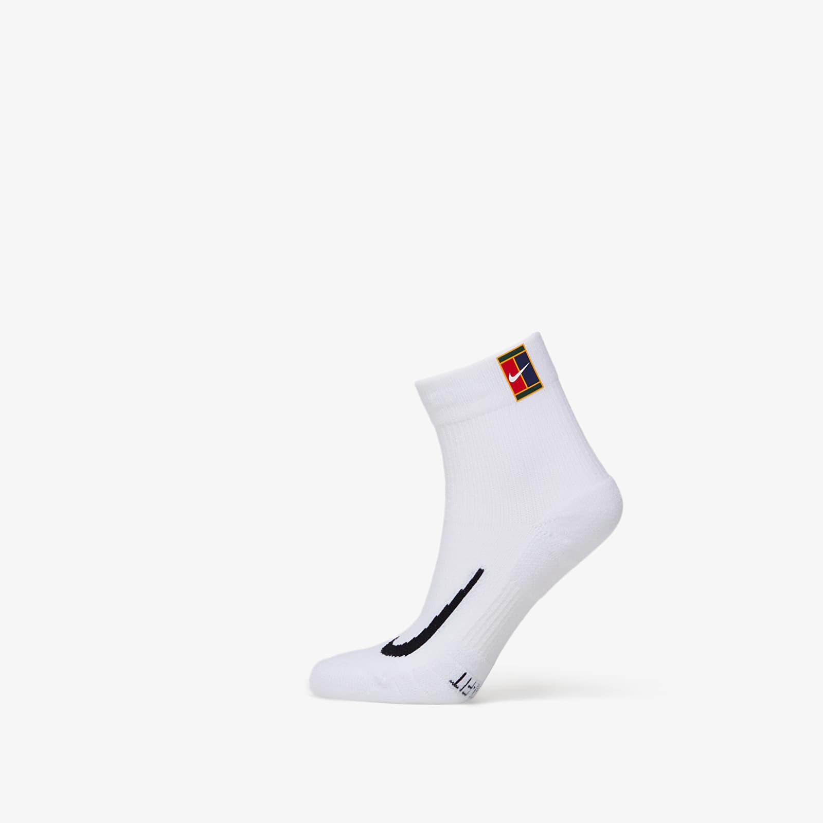 Șosete Nike Multiplier Max Anikele 2 Pack Socks White/ White
