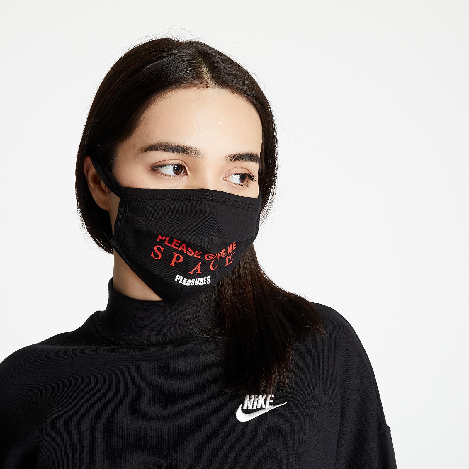 Altele PLEASURES Space Face Mask Black