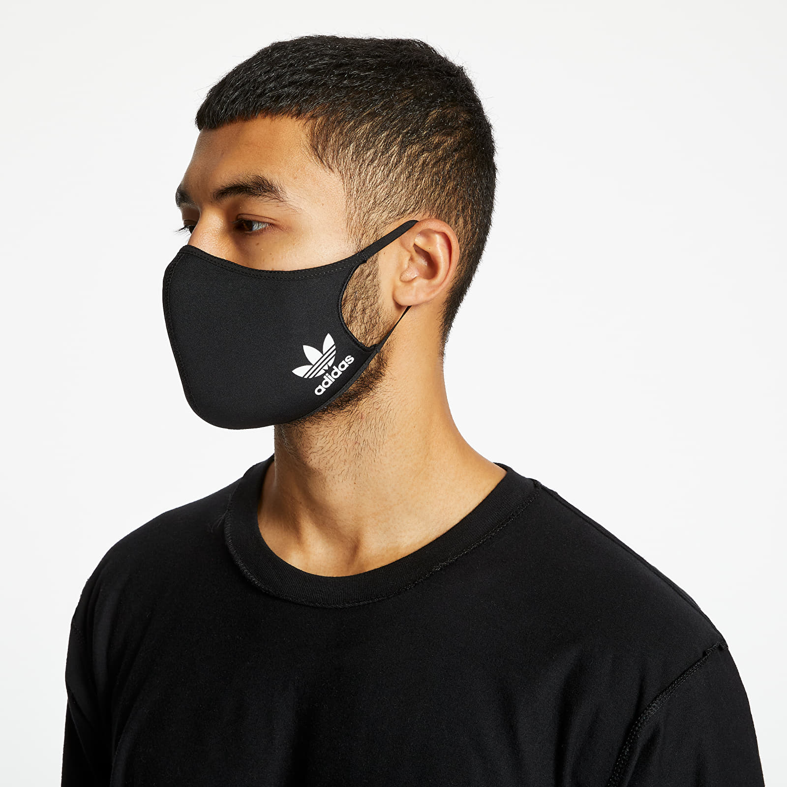 Accesorii adidas Face Cover Small 3Pack Black