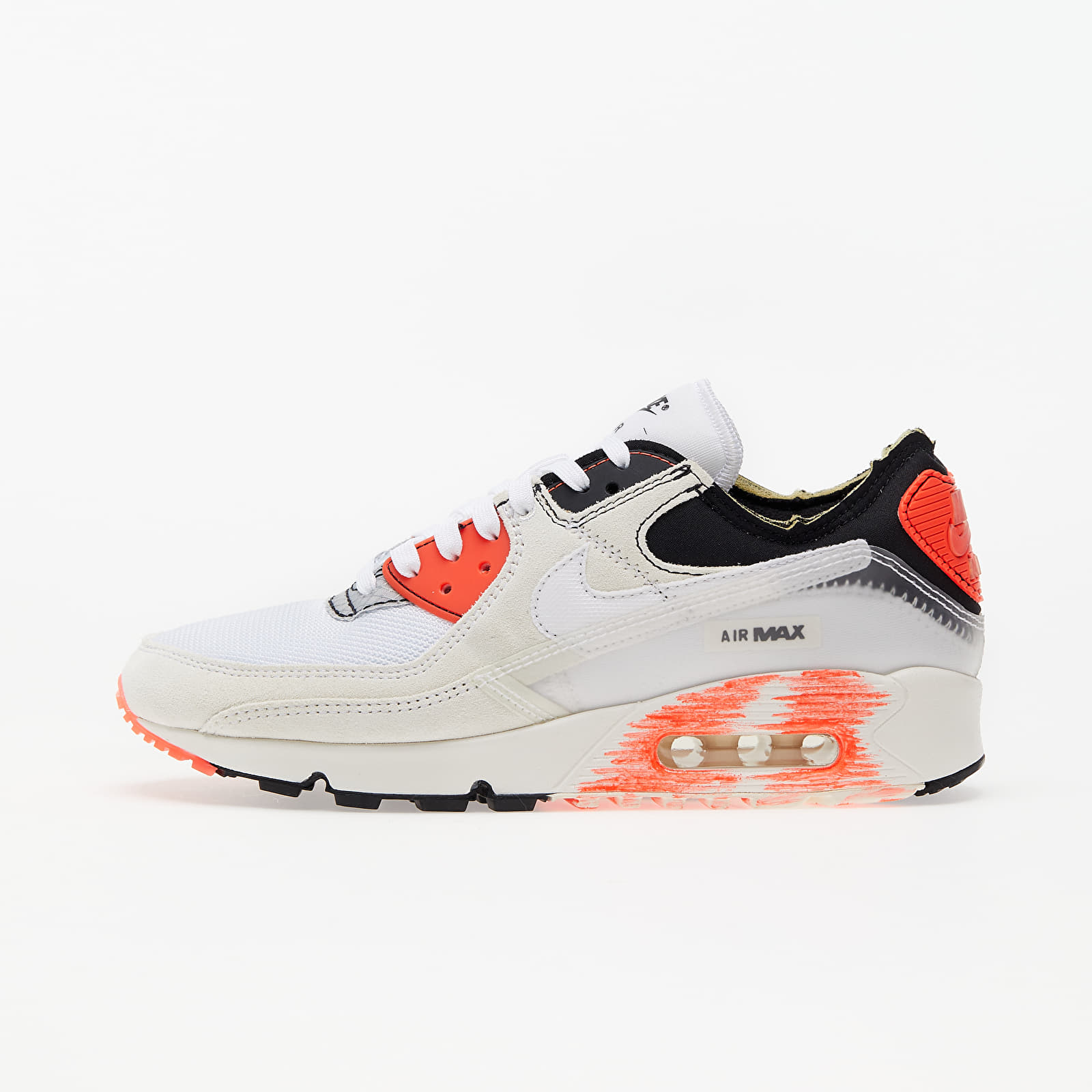 Nike Air Max III Premium White/ White-Black-Bright Crimson EUR 41