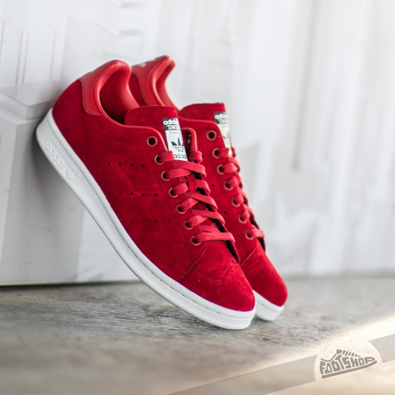 Aparecer Hueso Pino  Women's shoes adidas Stan Smith Powder Red/ Powder Red/ Ftw White | Footshop