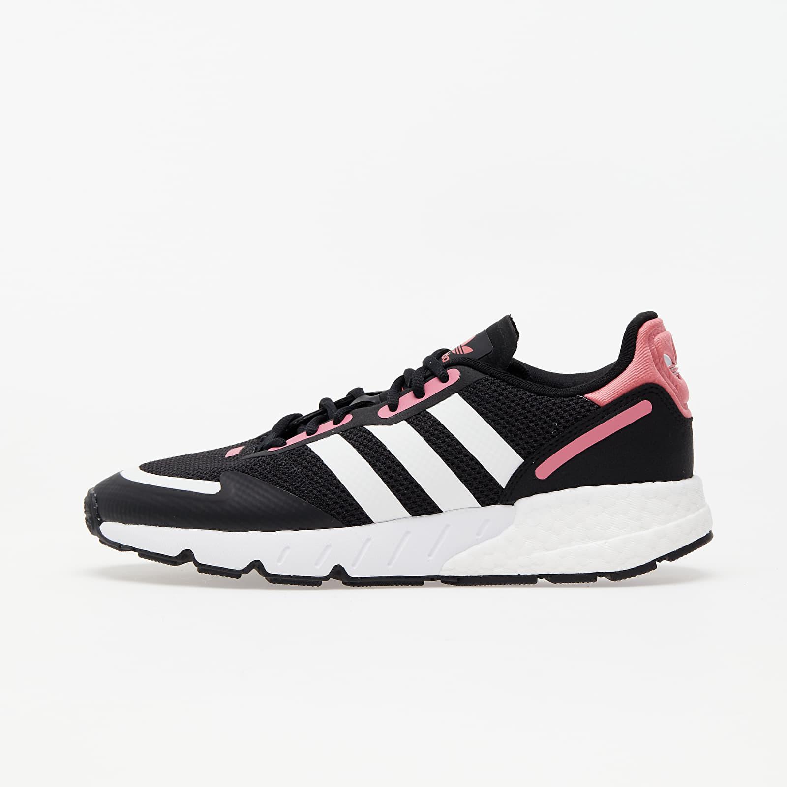 Încălțăminte și sneakerși pentru femei adidas ZX 1K BOOST W Core Black/ Ftwr White/ Hazy Rose
