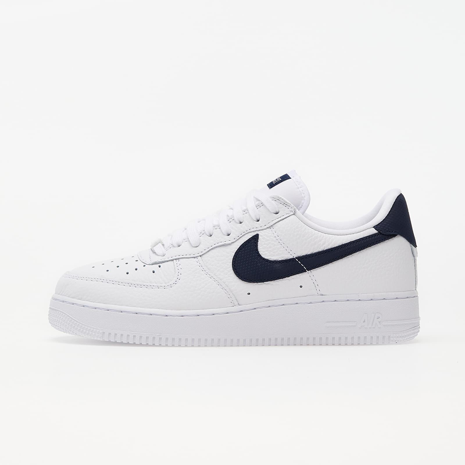 Pánské tenisky a boty Nike Air Force 1 '07 Craft White/ Obsidian-White