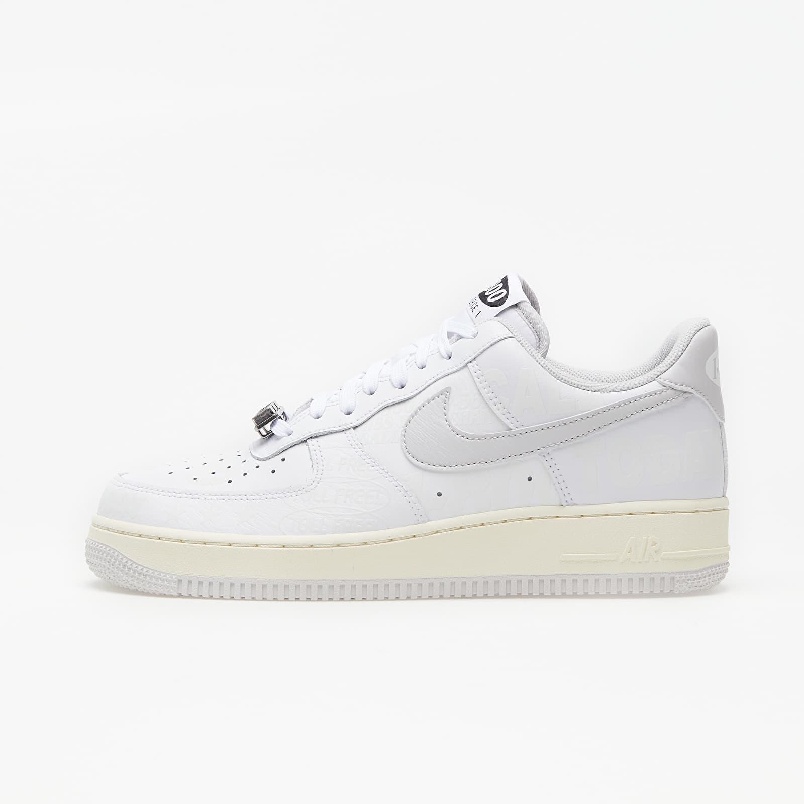 Pánske tenisky a topánky Nike Air Force 1 '07 Premium White/ Vast Grey-Sail-Black