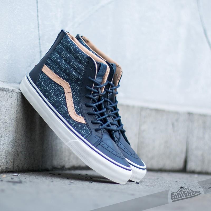 Men's shoes Vans Sk8-Hi Zip + Indigo