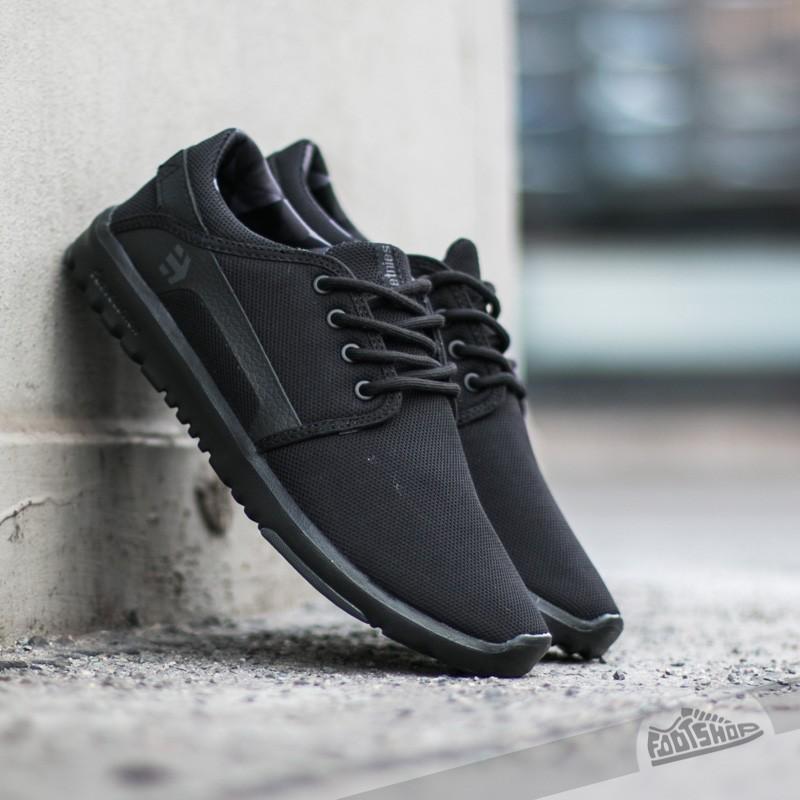 Men's shoes etnies Scout Black/ Grey/ Black