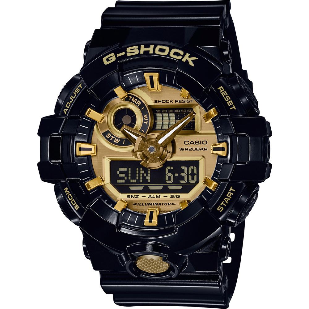Casio G-Shock GA-710GB-1AER univerzálna