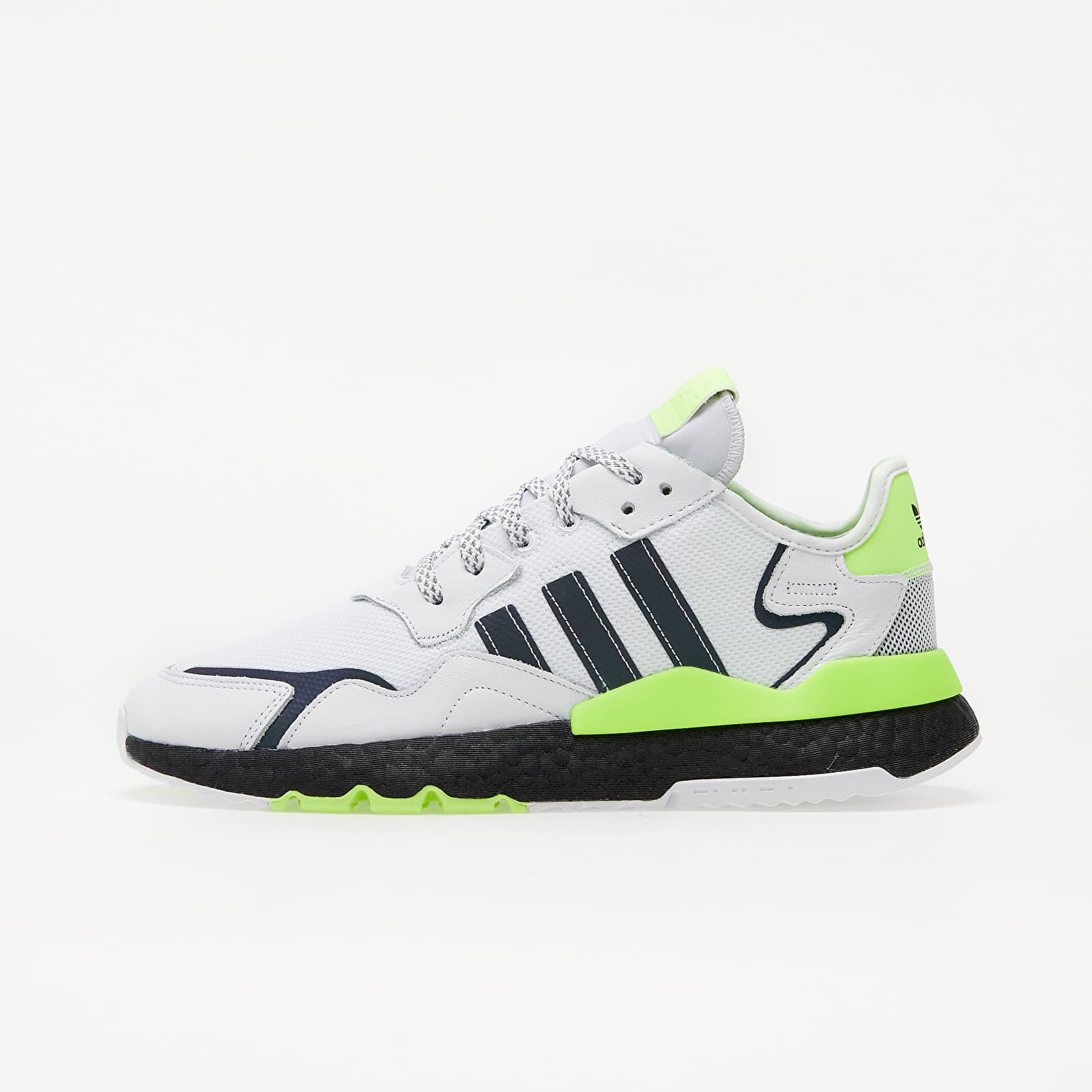 adidas Nite Jogger Ftw White/ Core Black/ Siggnr EUR 47 1/3