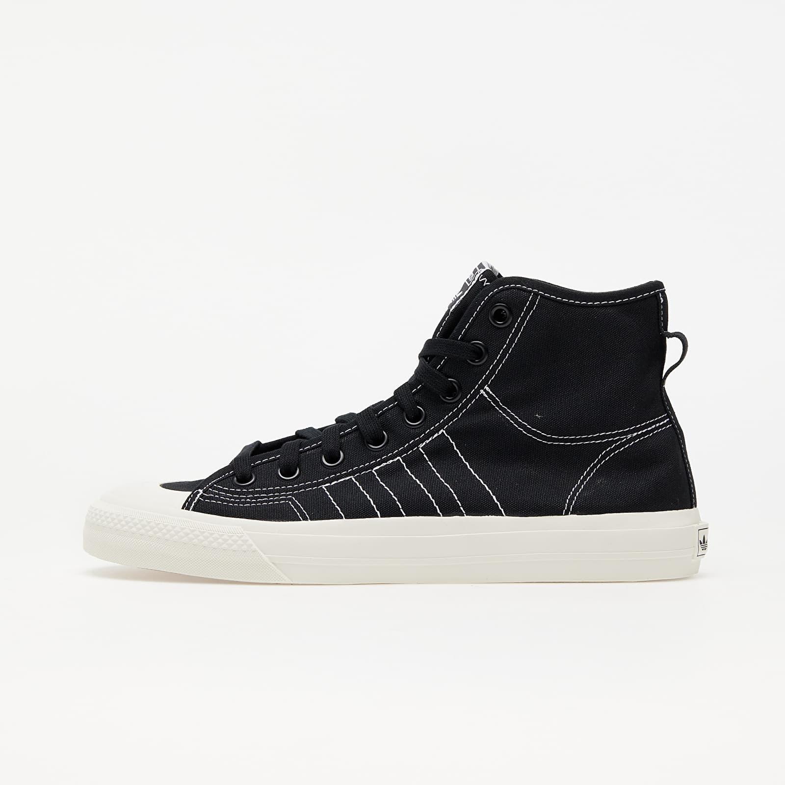 adidas Nizza Hi Rf Core Black/ Ftw White/ Off White EUR 43 1/3