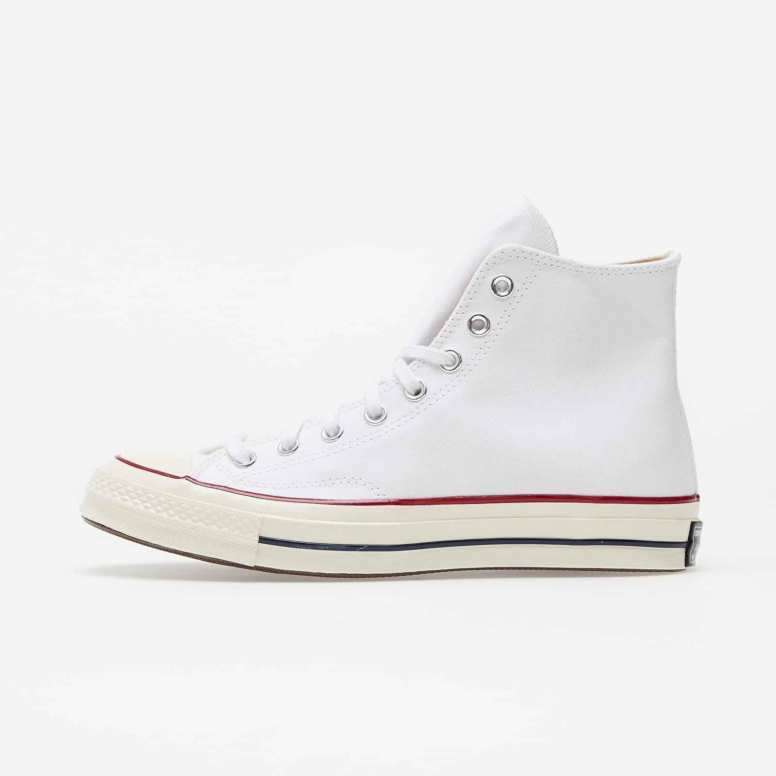 Мъжки кецове и обувки Converse Chuck Taylor All Star 70 Hi White/ Garnet/ Egret