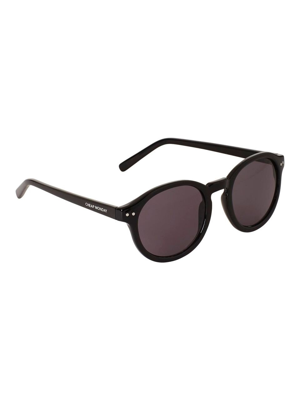d568407aa24 Cheap Monday Circle Black Sunglasses | Footshop