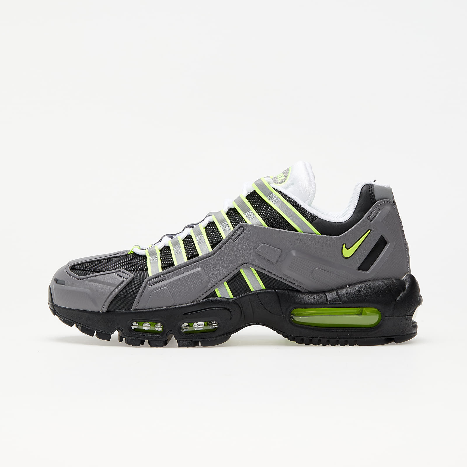 Nike Air Max 95 NDSTRKT Black/ Neon Yellow-Medium Grey EUR 45
