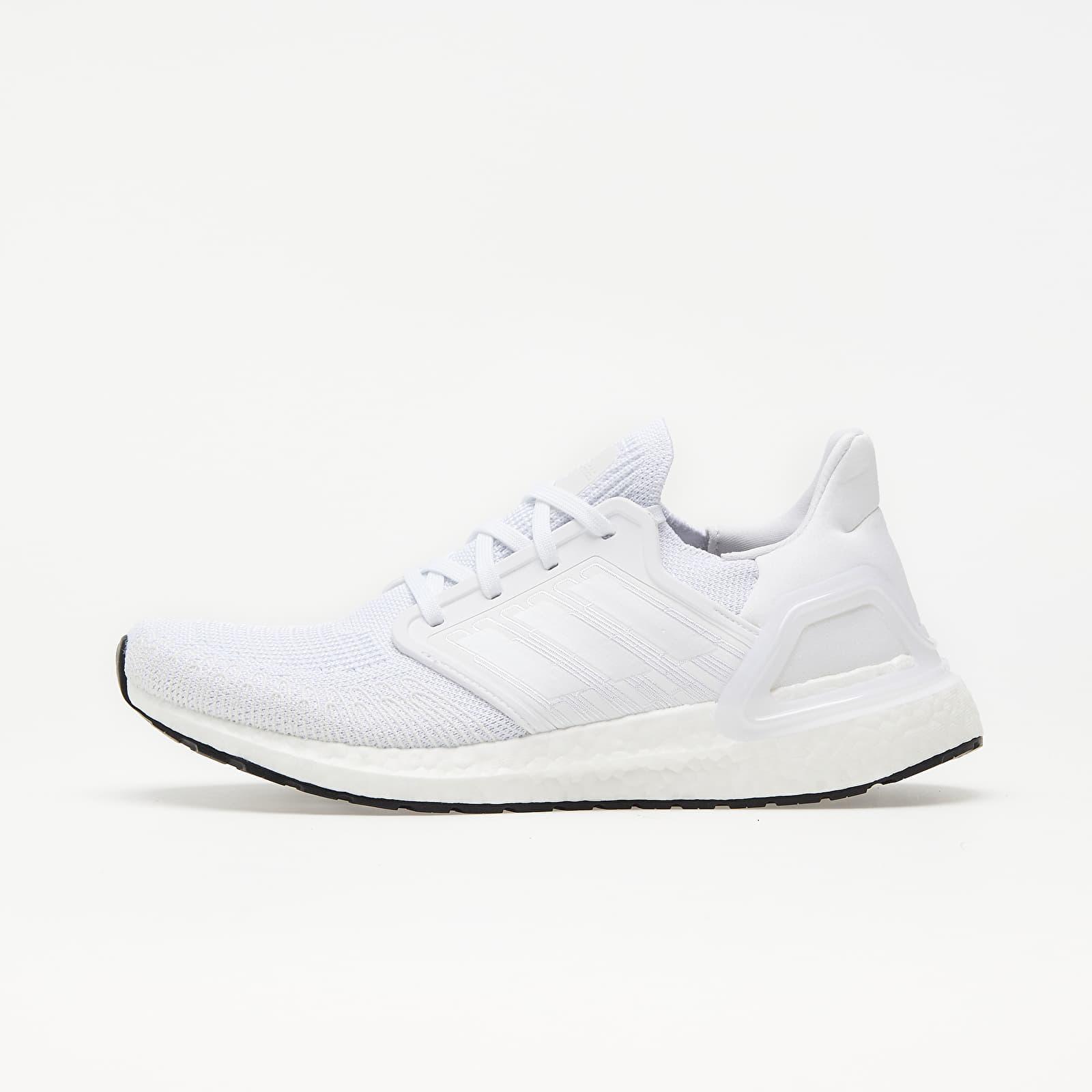 adidas UltraBOOST 20 Ftw White/ Ftw White/ Core Black EUR 43 1/3