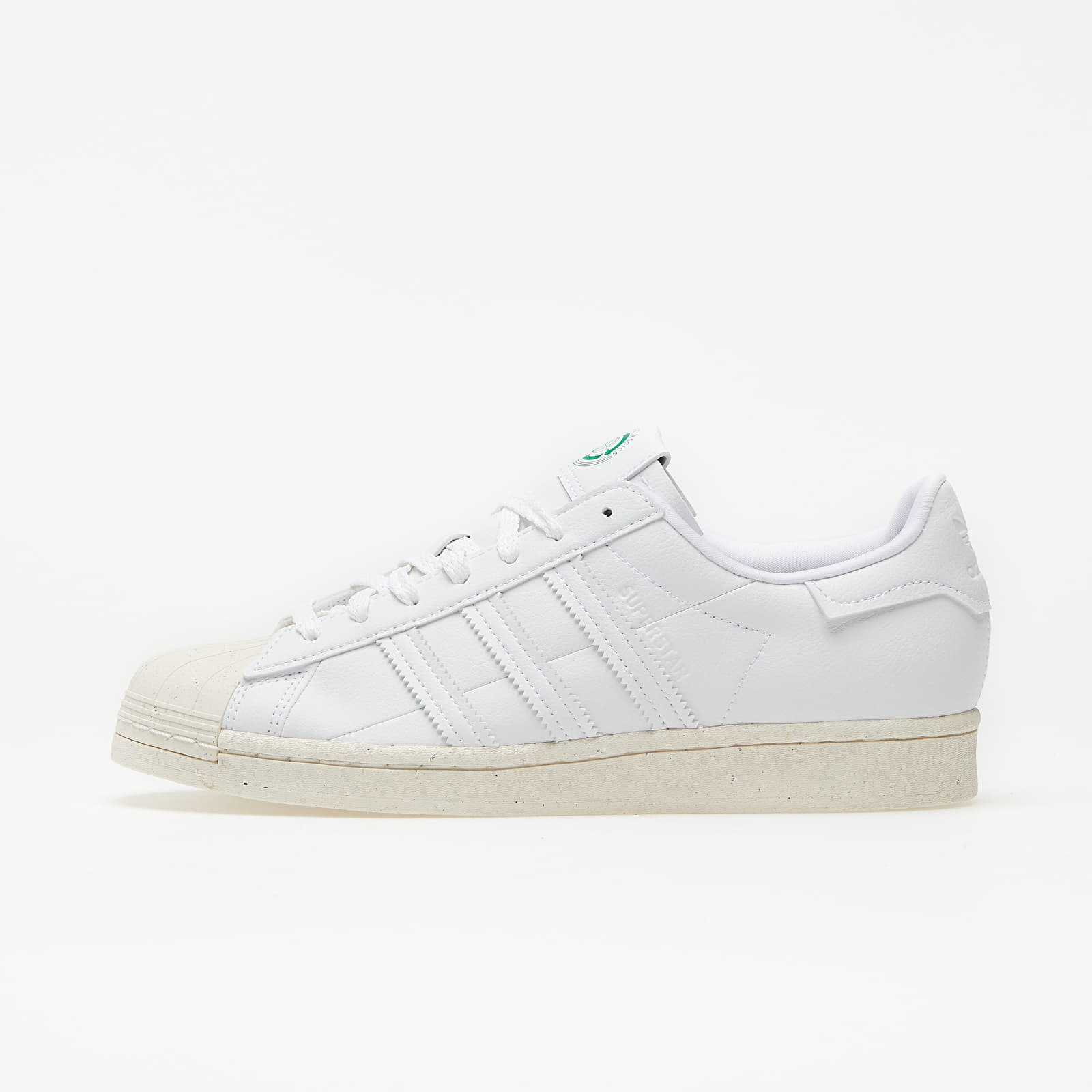 adidas Superstar Clean Classics Ftw White/ Off White/ Green EUR 43 1/3