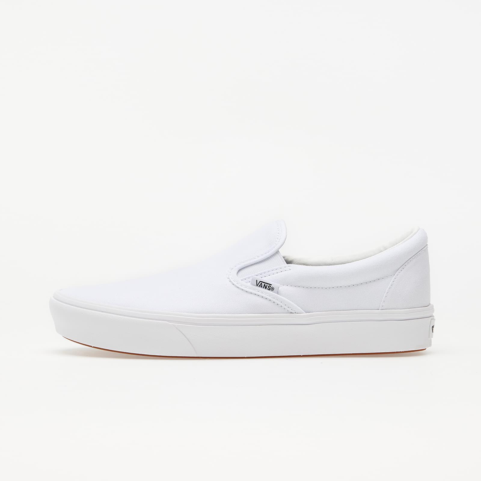 Pánské tenisky a boty Vans ComfyCush Slip-On (Classic) True White/ True