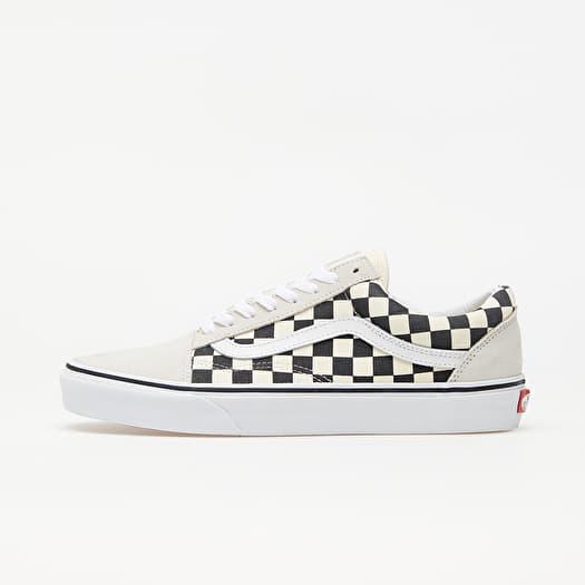 Vans Old Skool (Checkerboard) White/ Black | Footshop