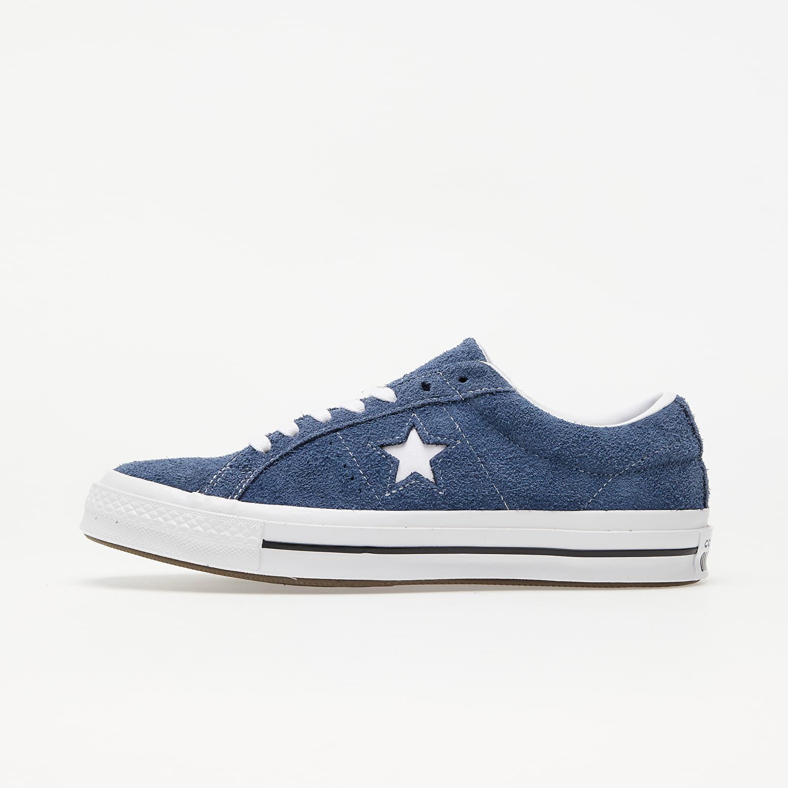 Мъжки кецове и обувки Converse One Star OX Navy/ White/ White