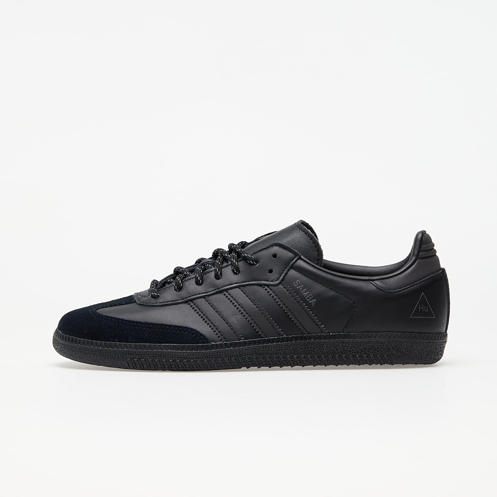 analogía creciendo Decorar  Men's shoes adidas x Pharrell Williams Samba Core Black/ Core Black/ Core  Black | Footshop