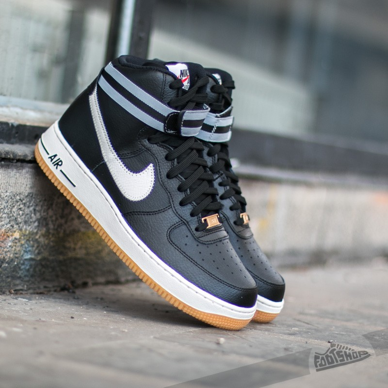best sneakers f36d5 ab565 ... mens casual shoes black white 84fd3 89bec  australia nike air force 1  high 07 black silver wolf grey gum light 960c4 671c8