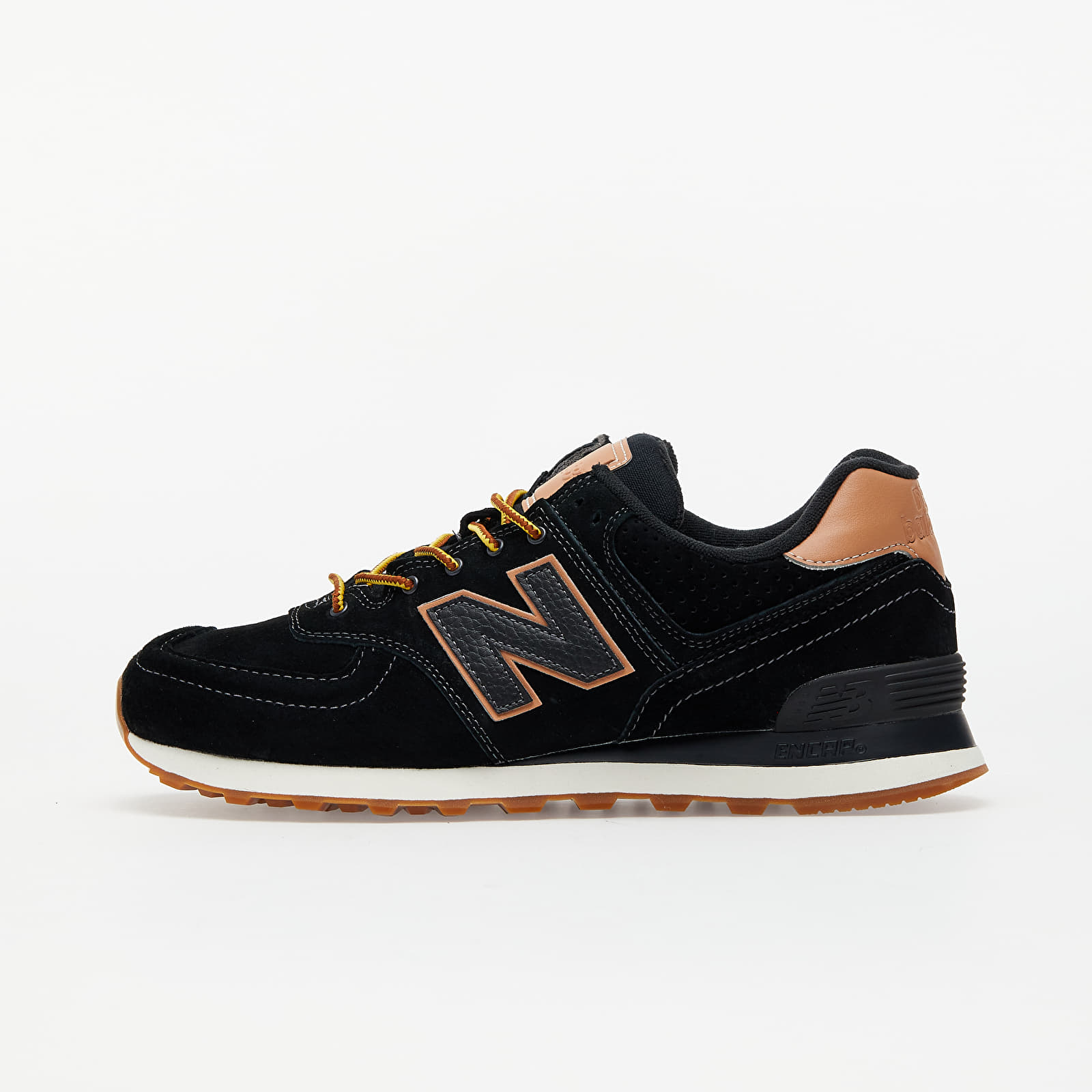 New Balance 574 Black/ Brown EUR 40.5