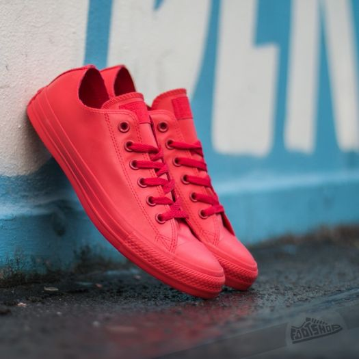 Converse Chuck Taylor All Star Rubber Ox RedRedRed