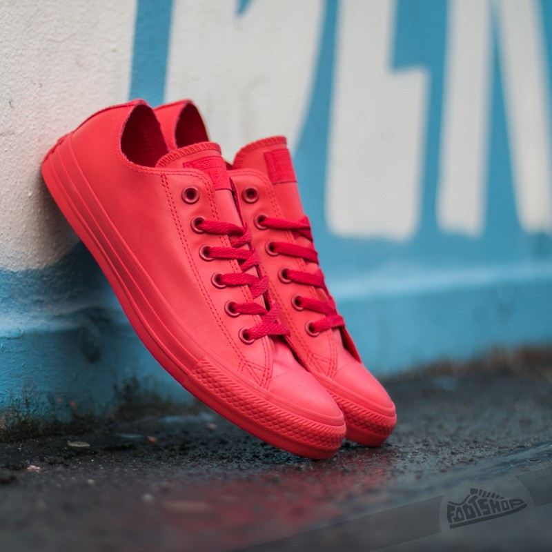 7601a61d444 Converse Chuck Taylor All Star Rubber Ox Red Red Red