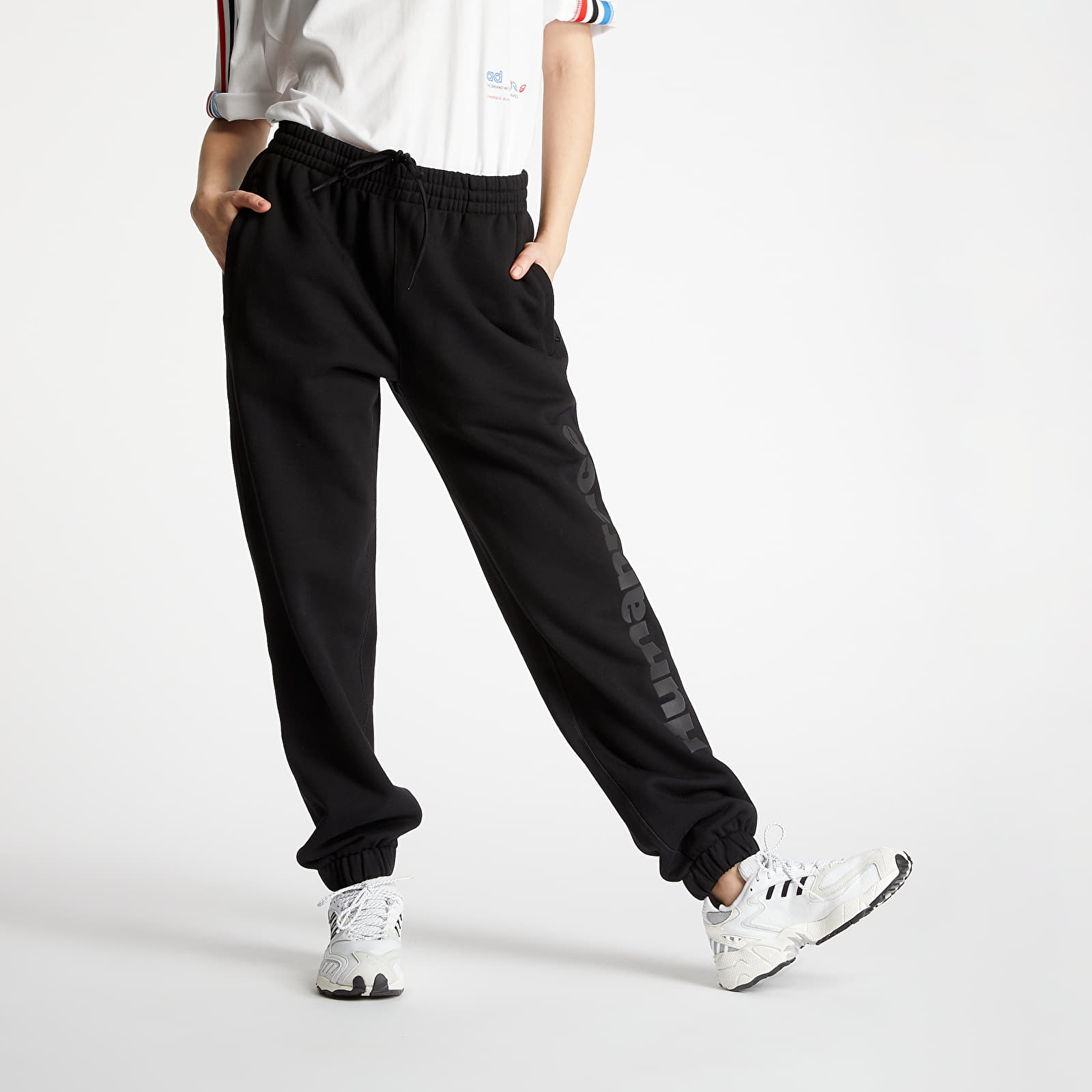 Pants and jeans adidas x Pharrel Williams Premium Basics Pant Black