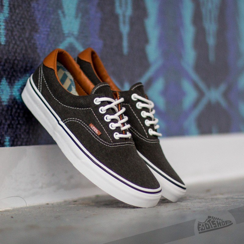 38708e0cf9 Vans Era 59 (Washed C L) Black