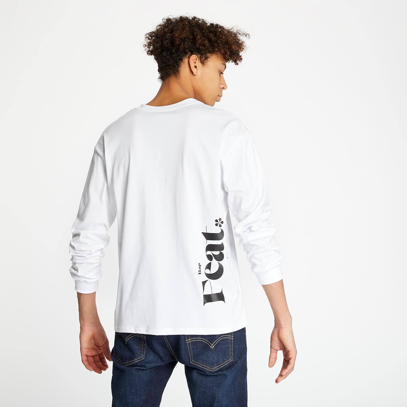 T-shirts RAP x Footshop Definition Longsleeve White