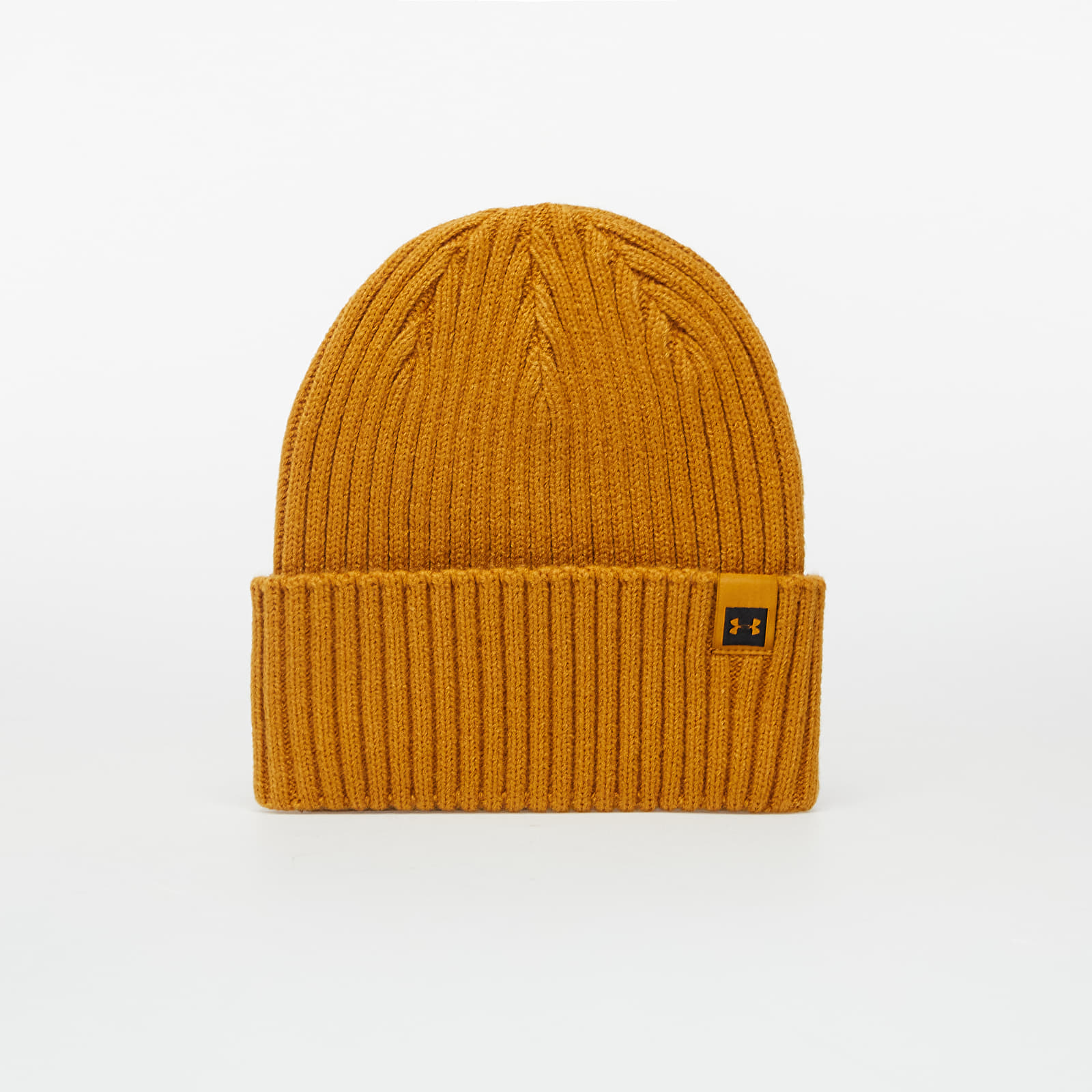 Caps and Hats Under Armour Truckstop Pro Beanie Yellow Ochre/ Black
