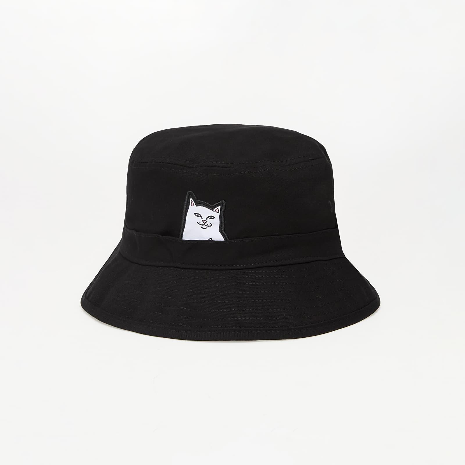 Klobouky RIPNDIP Lord Nermal Bucket Hat Black