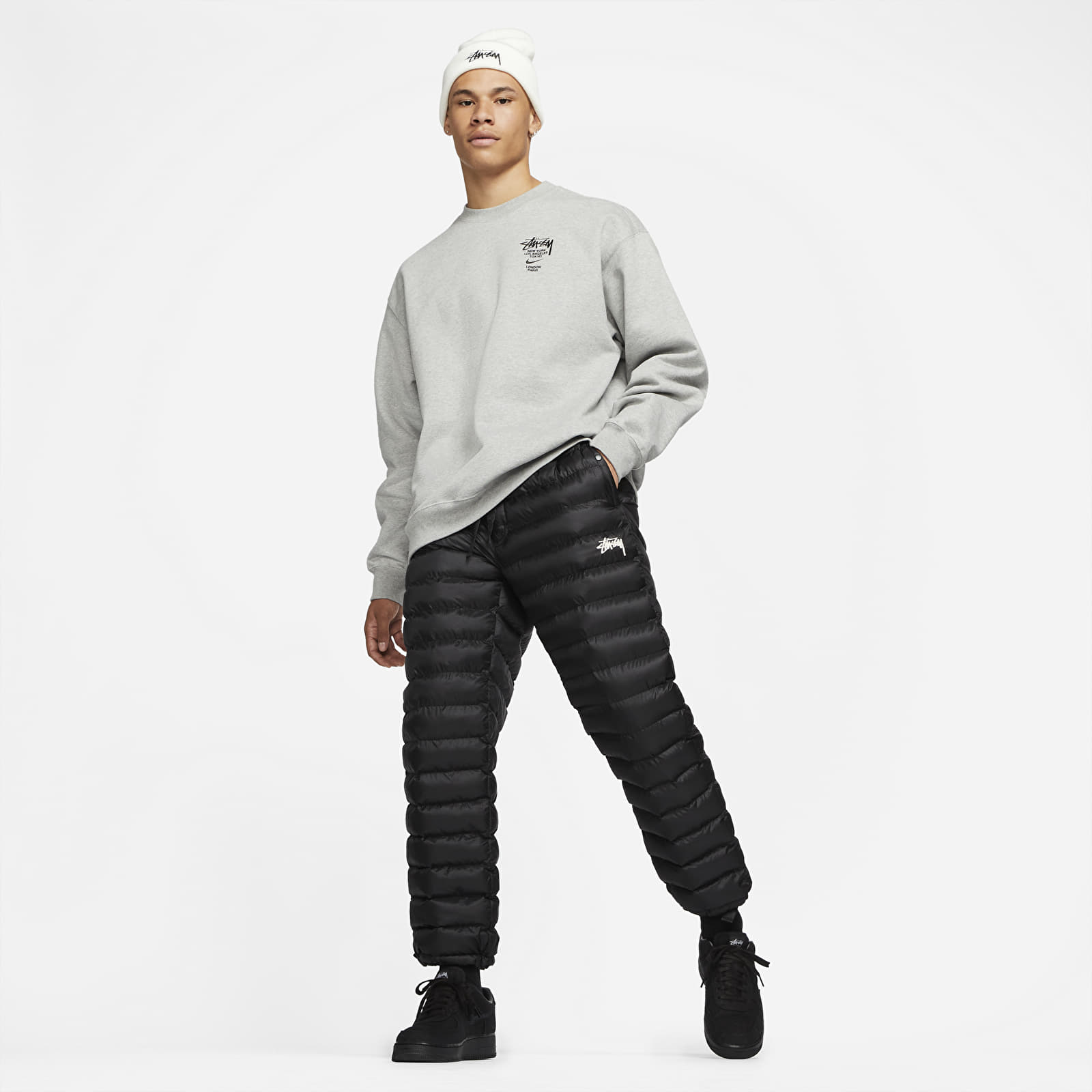 Pants and jeans Nike x Stüssy Sportswear Pants Black