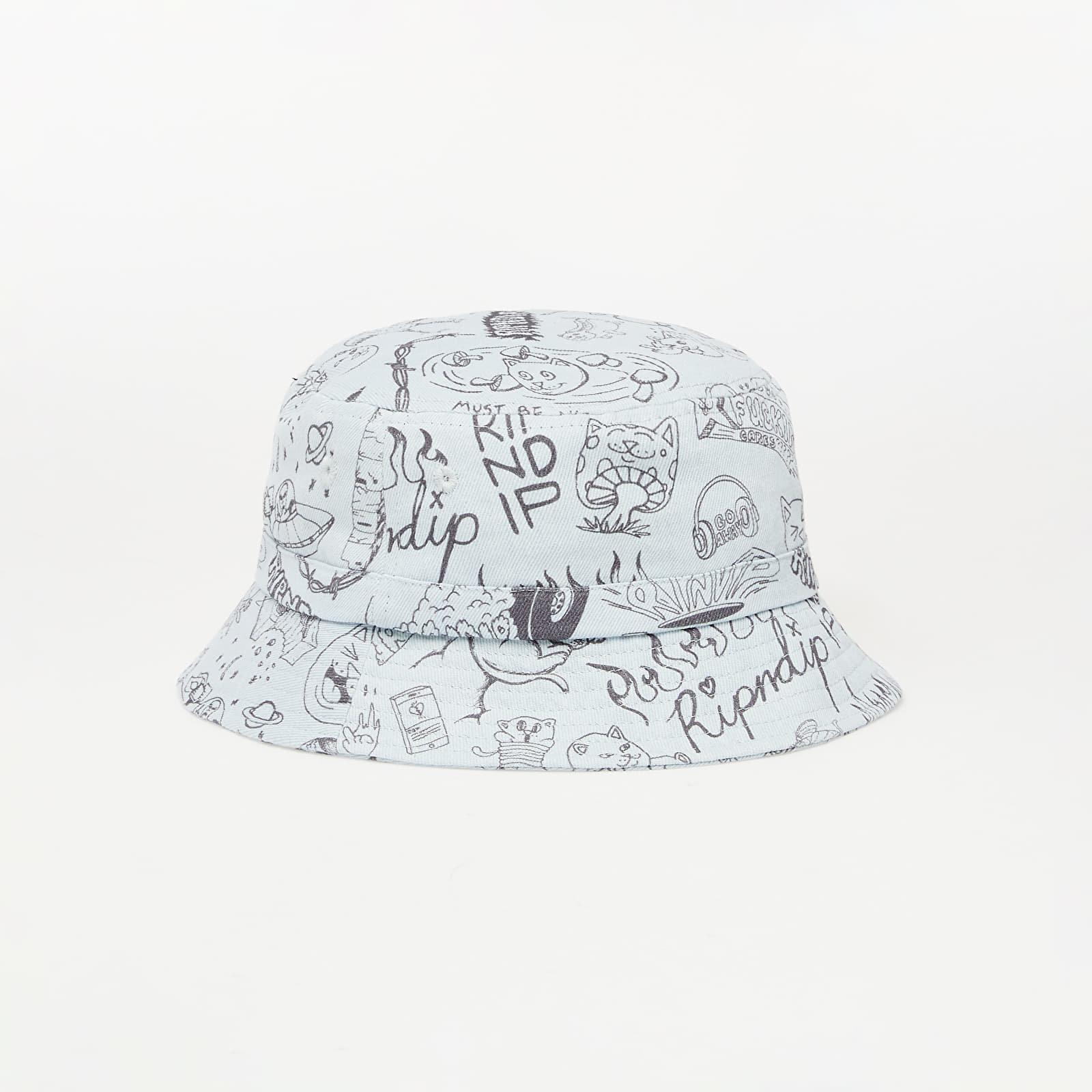 Čiapky RIPNDIP Sharpie Bucket Hat Light Denim Wash
