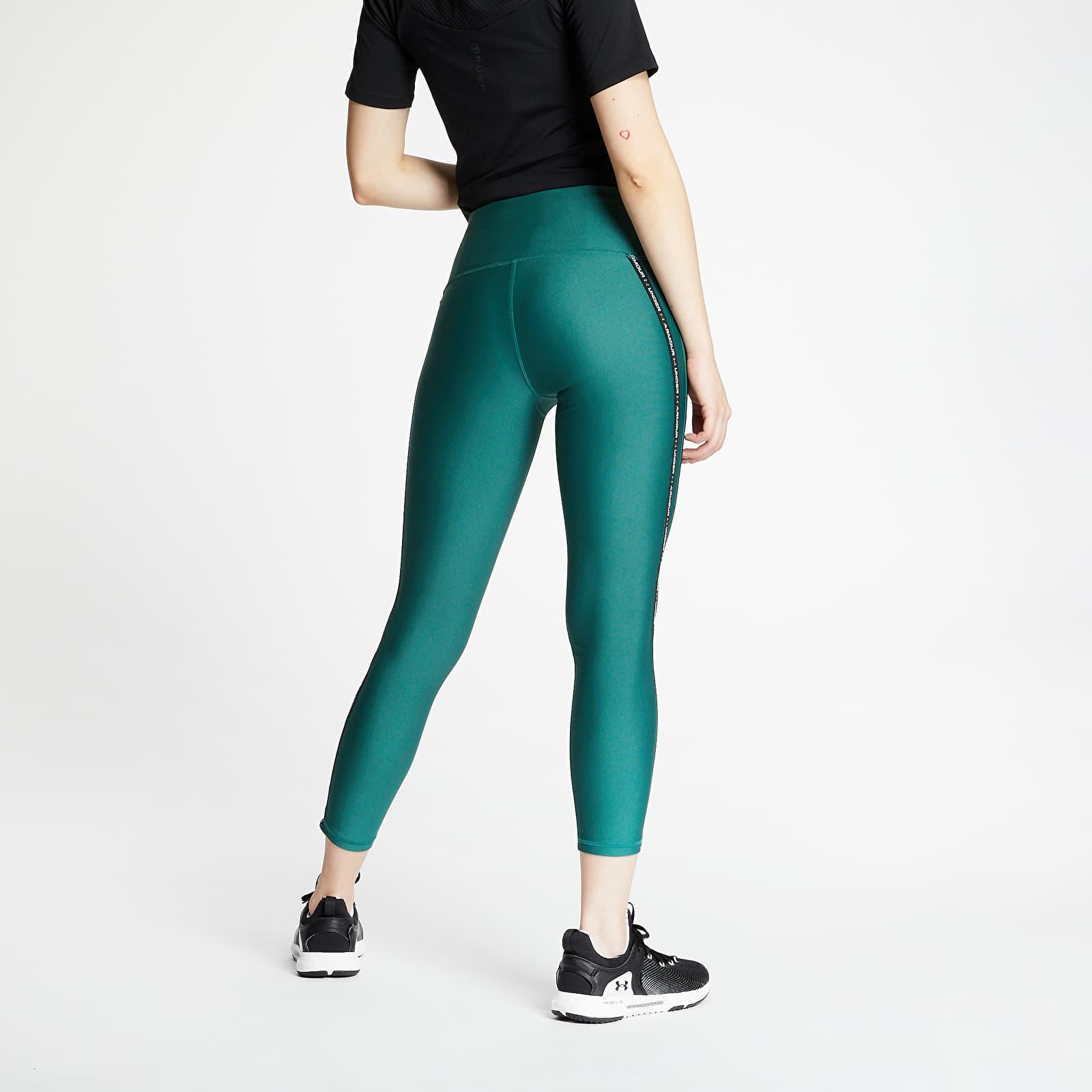 Pants and jeans Under Armour HG Armour WMT Ankle Crop Pants Saxon Green/ Black/ Black