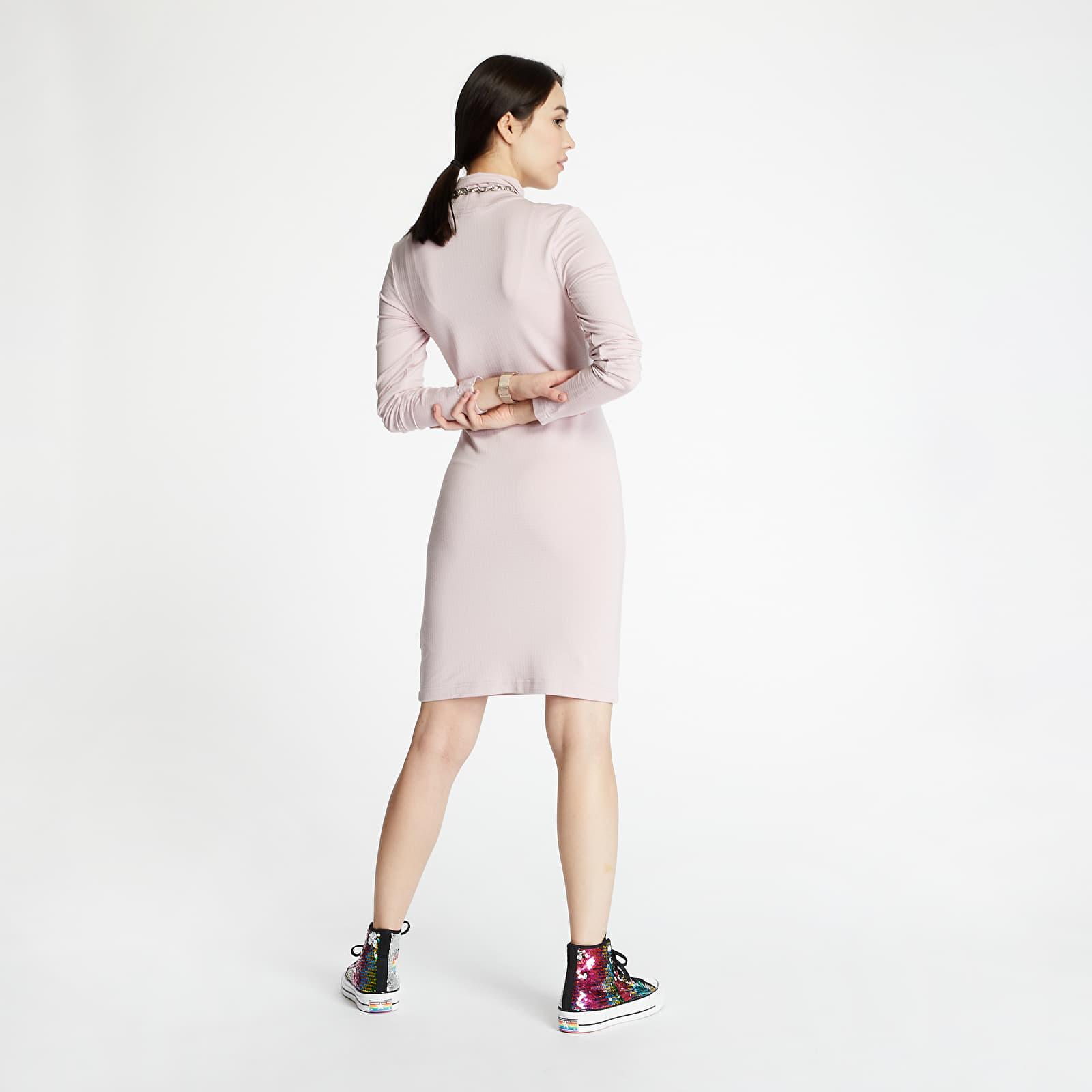 Trička Nike Sportswear Swoosh Dress Longsleeve Mock Champagne
