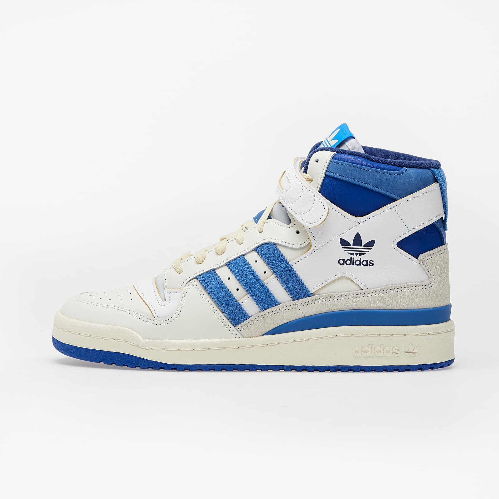 Pánské tenisky a boty adidas Forum 84 High Blue Thread Off White/ Bright Blue/ Ftwr White