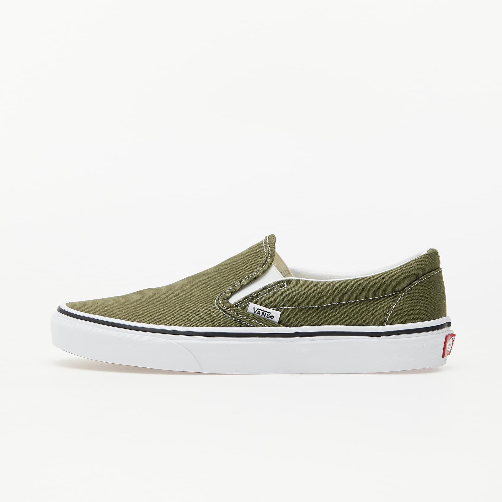 Férfi cipők Vans Classic Slip-On Winter Moss/ True White