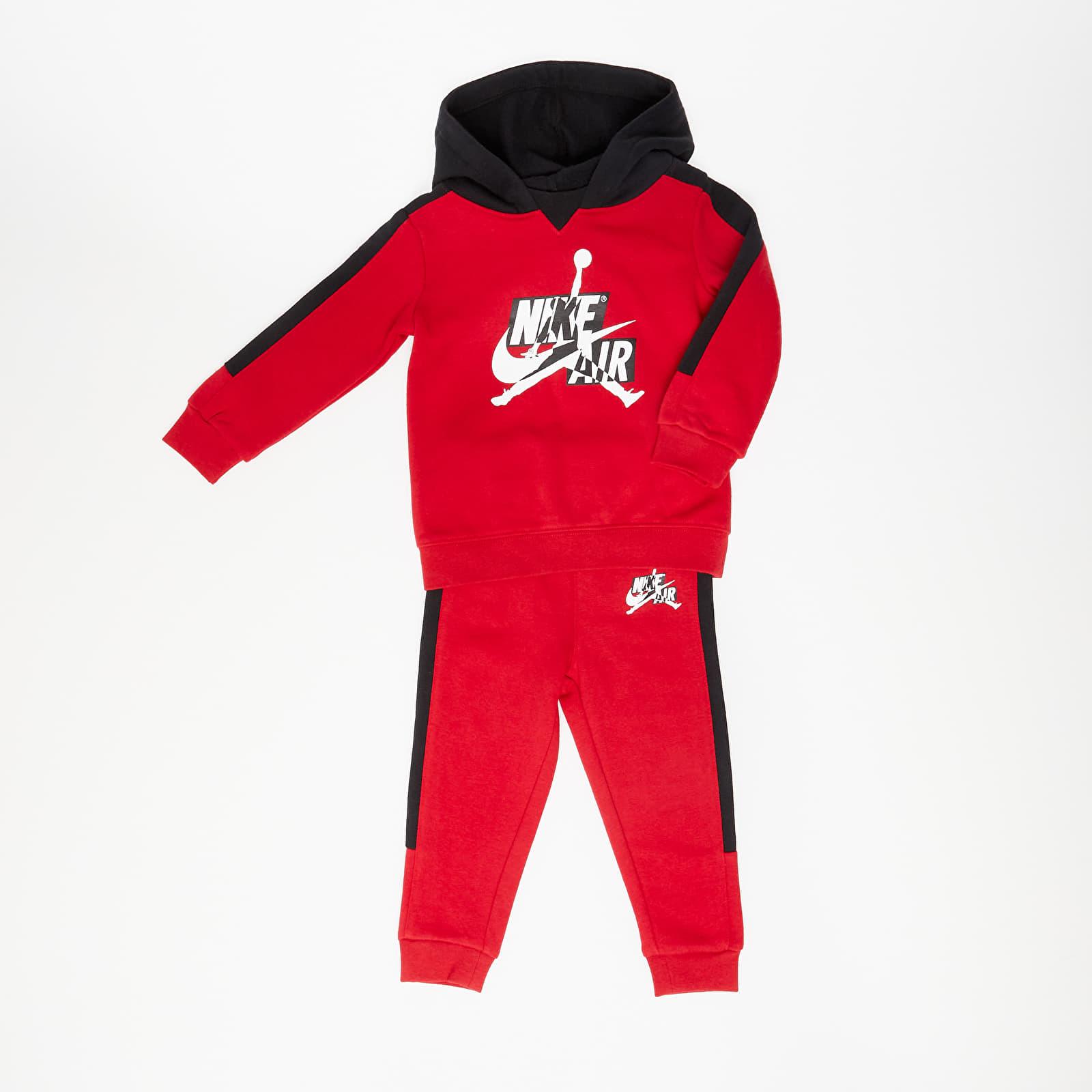 Dětské oblečení Jordan Jumpman Classics III Fleece Set Toddlers Gym Red