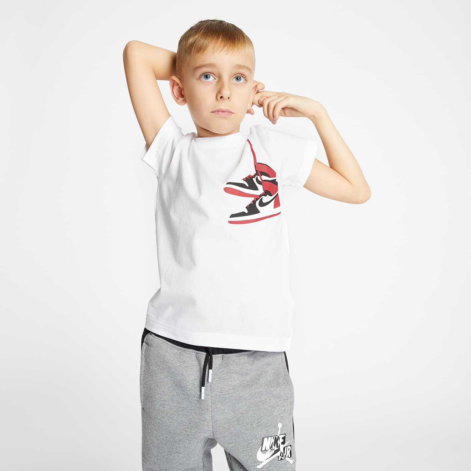 Dětská trička Jordan JDB Aj1 Street View Toddlers White