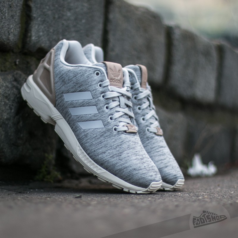 4cd08a4d adidas ZX Flux Solid Grey/ Pale Nude/ White | Footshop